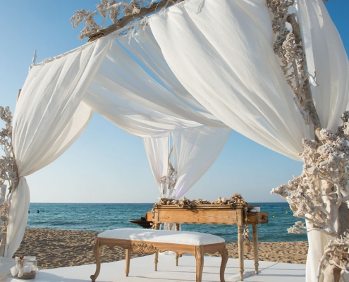 Coccaro beach wedding