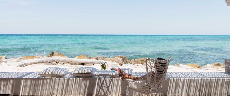 Lady looking out to sea – La Peschiera, Puglia